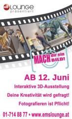 Neue interaktive 3D-Ausstellung: Mach Dir ein Bild! 3D-Realität oder Illusion??, 1030 Wien  3. (Wien), 31.08.2014, 10:00 Uhr