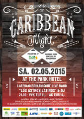 """Caribbean Night"" presented by rumzentrum.at, 2500 Baden (NÖ), 02.05.2015, 21:00 Uhr"