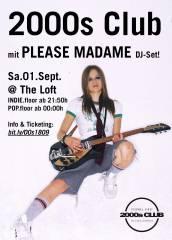 2000s Club mit PLEASE MADAME DJ-Set, 1160 Wien,Ottakring (Wien), 01.09.2018, 21:50 Uhr