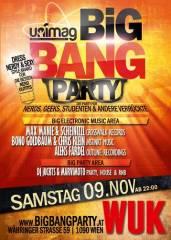 Big Bang Party, 1090 Wien  9. (Wien), 09.11.2013, 22:00 Uhr
