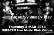 The Cortege (UK) + The Heavy Minds + Joey, 1200 Wien 20. (Wien), 03.04.2014, 20:00 Uhr