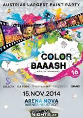 Color Baaash, 2700 Wiener Neustadt (NÖ), 15.11.2014, 21:00 Uhr