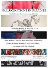 Junge Künstlerinnen und Künstler zeigen neue psychedelische Bilder!, 1160 Wien 16. (Wien), 08.06.2014, 10:00 Uhr