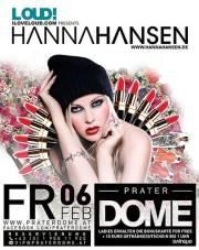 ILOVELOUD.COM presents Hanna Hansen, 1020 Wien  2. (Wien), 06.02.2015, 22:00 Uhr