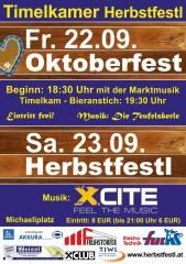 Oktoberfest Timelkam, 4850 Timelkam (OÖ), 22.09.2017, 18:30 Uhr