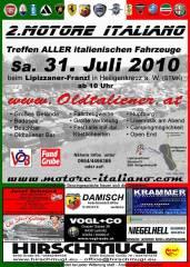 2. Motore Italiano, 8081 Heiligenkreuz am Waasen (Stmk.), 31.07.2010, 10:00 Uhr