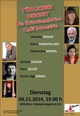 Blutiger Herbst - Lange Kriminacht im Industrie!, 1050 Wien  5. (Wien), 04.11.2014, 20:00 Uhr