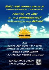 90ies Club @ Donauinselfest   Aftershowparty @ Auslage!, 1210 Wien,Floridsdorf (Wien), 24.06.2016, 18:00 Uhr