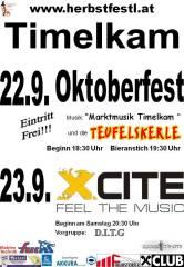 Timelkamer Herbstfestl, 4850 Timelkam (OÖ), 23.09.2017, 20:30 Uhr