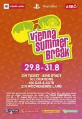 Vienna Summerbreak 2014 - Wiens Sommerfestival, 1010 Wien  1. (Wien), 31.08.2014, 13:00 Uhr