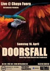 Doorsfall, 1070 Wien  7. (Wien), 18.04.2015, 21:00 Uhr