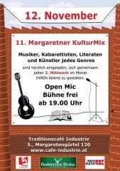 11. Margaretner KulturMix im Industrie!, 1050 Wien  5. (Wien), 12.11.2014, 20:00 Uhr