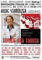 Lesung Hilde Schmölzer, 1140 Wien 14. (Wien), 25.04.2015, 18:30 Uhr
