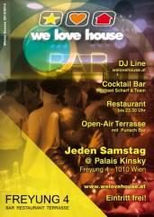 we love house, 1010 Wien  1. (Wien), 26.04.2014, 20:00 Uhr