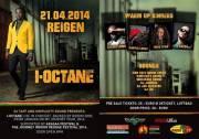 I-Octane live from Jamaica, 1140 Wien 14. (Wien), 21.04.2014, 20:00 Uhr