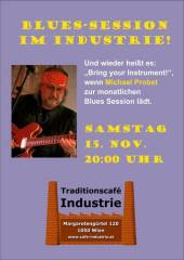 Blues-Session im Industrie!, 1050 Wien  5. (Wien), 15.11.2014, 20:00 Uhr