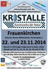 Kristalle - Kunstwerke der Natur, 7132 Frauenkirchen (Bgl.), 23.11.2014, 10:00 Uhr