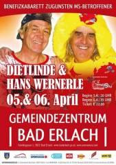 Dietlinde & Hans Wernderle, 2822 Erlach (NÖ), 06.04.2014, 19:00 Uhr