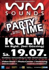 WM-Sounds Partytime | Kulm bei Güssing, 7521 Kulm im Burgenland (Bgl.), 19.07.2014, 21:00 Uhr