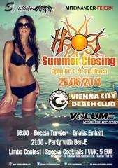Hot Summer Closing 2014, 1220 Wien 22. (Wien), 29.08.2014, 20:00 Uhr
