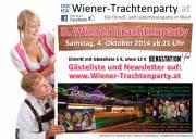 8. Wiener-Trachtenparty in der Bergstation Tirol am Karlsplatz 5, 1010 Wien Samstag, 4. Oktober 2014 ab 21 Uhr!, 1010 Wien,Innere Stadt (Wien), 04.10.2014, 21:00 Uhr