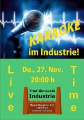Karaoke im Industrie!, 1050 Wien  5. (Wien), 27.11.2014, 20:00 Uhr
