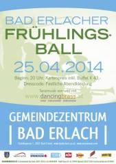 Bad Erlacher Frühlingsball, 2822 Erlach (NÖ), 25.04.2014, 20:00 Uhr