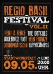 Regio Bash Festival, 4020 Linz (OÖ), 09.05.2014, 20:00 Uhr