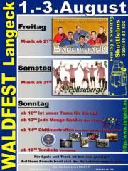 Waldfest Langeck, 7442 Langeck im Burgenland (Bgl.), 03.08.2014, 09:00 Uhr