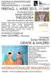 Der neue Roman von Sonja Henisch über Theodora, die Kaiserin von Byzanz  historisches Frauenschicks, 1170 Wien 17. (Wien), 06.03.2015, 19:00 Uhr