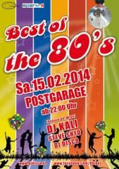 Best of the 80s, 8020 Graz  5. (Stmk.), 15.02.2014, 22:00 Uhr
