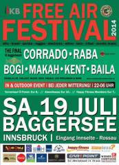Free Air Festival 2014 - The Final @Baggerbeach, 6020 Innsbruck (Trl.), 19.07.2014, 22:00 Uhr