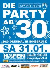 Forever Young  Die Party ab 30, 6020 Innsbruck (Trl.), 31.01.2015, 22:00 Uhr