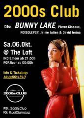 2000s Club mit BUNNY LAKE DJ-Set, 1160 Wien,Ottakring (Wien), 06.10.2018, 21:45 Uhr