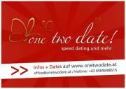 Speed Dating mit OneTwoDate - Singles einfach kennen lernen, 6020 Innsbruck (Trl.), 12.09.2010, 15:00 Uhr
