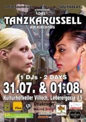 Das Tanzkarussell am Villacher Kirchtag, 9500 Villach-Innere Stadt (Ktn.), 01.08.2014, 18:00 Uhr