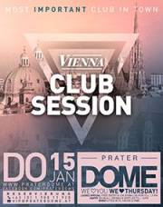 Vienna Club Session, 1020 Wien  2. (Wien), 15.01.2015, 22:00 Uhr