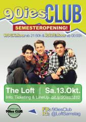 90ies Club: Semester Opening, 1160 Wien,Ottakring (Wien), 13.10.2018, 21:50 Uhr