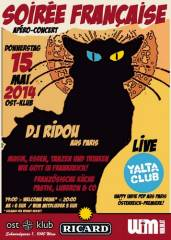 Soirée Francaise + live Yalta Club [F], 1040 Wien  4. (Wien), 15.05.2014, 19:00 Uhr