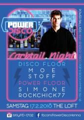 POWER DISCO  Cocktail Night, 1160 Wien,Ottakring (Wien), 17.02.2018, 21:45 Uhr