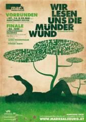 Finale: Wir lesen uns die Münder wund  AutorInnenwettbewerb, 5020 Salzburg (Sbg.), 06.06.2014, 20:00 Uhr
