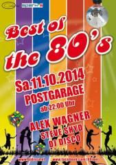 Best of the 80s, 8020 Graz  5. (Stmk.), 11.10.2014, 22:00 Uhr