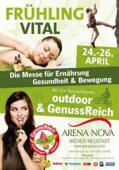 FRÜHLING VITAL    24. - 26. APRIL 2015, 2700 Wiener Neustadt (NÖ), 24.04.2015, 14:00 Uhr