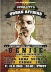 Urban Affairs pres. Benjie (Ger), 4020 Linz (OÖ), 15.11.2013, 22:00 Uhr