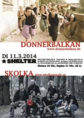 Balkan/Ska/Polka Live!, 1200 Wien 20. (Wien), 11.03.2014, 20:00 Uhr