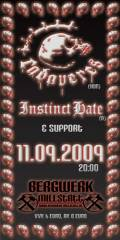 Cadaveres (Hun) & Instinct Hate (A), 9872 Millstatt (Ktn.), 11.09.2009, 20:00 Uhr