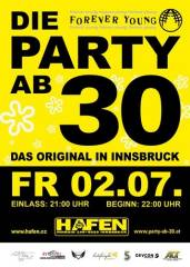 Forever Young - Die Party ab 30, 6020 Innsbruck (Trl.), 02.07.2010, 21:00 Uhr