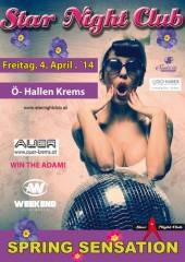 "Star Night Club ""Spring Sensation"", 3500 Krems an der Donau (NÖ), 04.04.2014, 21:00 Uhr"