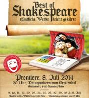 Best of Shakespeare, 8430 Kaindorf (Stmk.), 31.07.2014, 20:00 Uhr