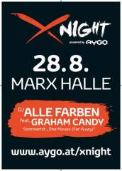 X-Night powered by AYGO, 1030 Wien  3. (Wien), 28.08.2014, 19:30 Uhr